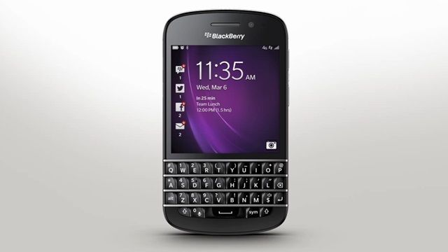 BlackBerry Q10'da BlackBerry Hub Resmi Demosu