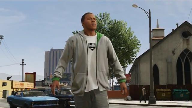 Grand Theft Auto V - Franklin Tanıtım Videosu
