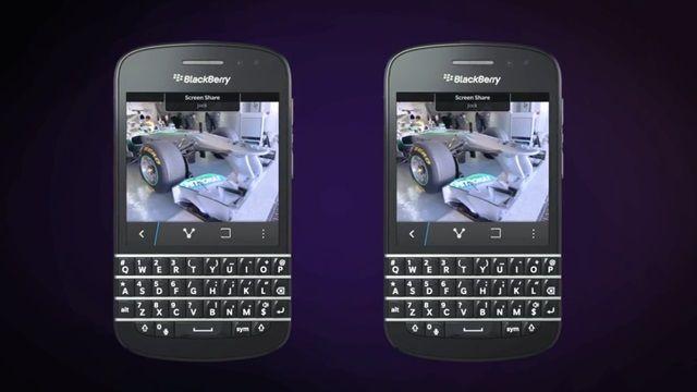 BlackBerry 10 - BlackBerry Messenger ile Ekran Paylaşımı