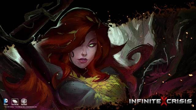 Infinite Crisis-Poison Ivy Oynanış Videosu