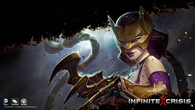 Infinite Crisis-Gaslight Catwoman Oynanış Videosu