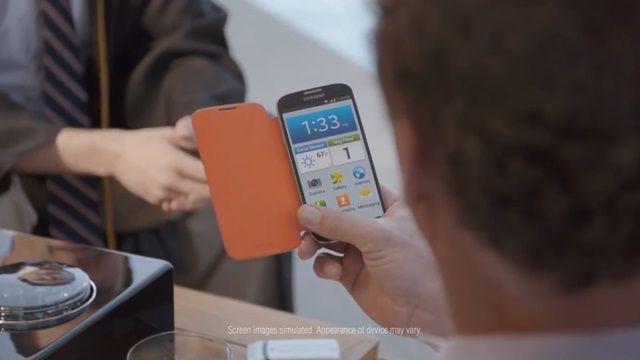 Samsung Galaxy S4 Reklamı - Kolay Kip