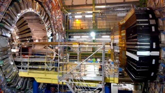 Google Glass ile CERN Büyük Hadron Çarpıştırıcısı Gezisi