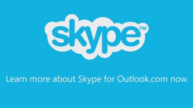 Outlook.Com Gelen Kutunuzdan Skype Araması Yapın