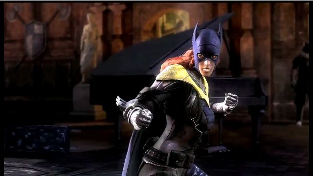 Injustice: Gods Among Us-Batgirl Oynanış Videosu