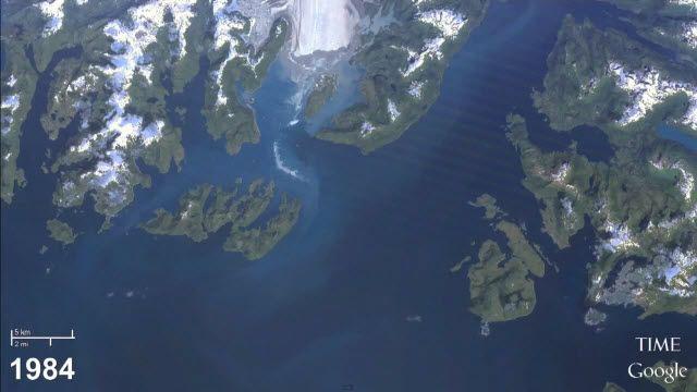Google ve NASA Dünyanın 30 Yılını Görüntüye Aldı