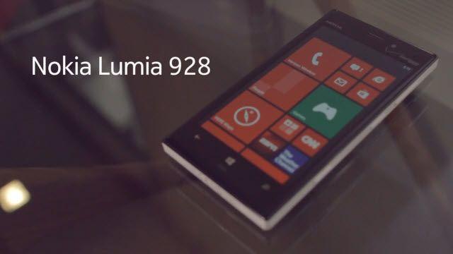 Nokia Lumia 928 ve Özellikleri