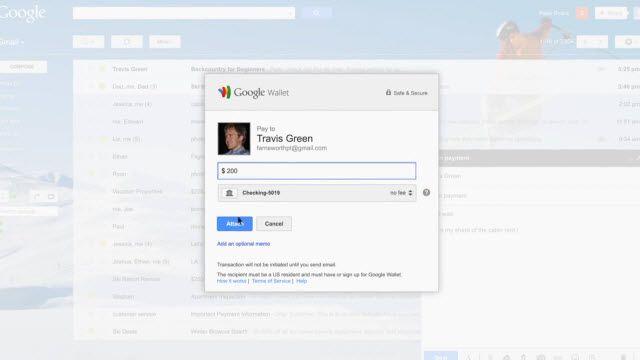 Gmail ve Google Wallet ile Para Gönderme