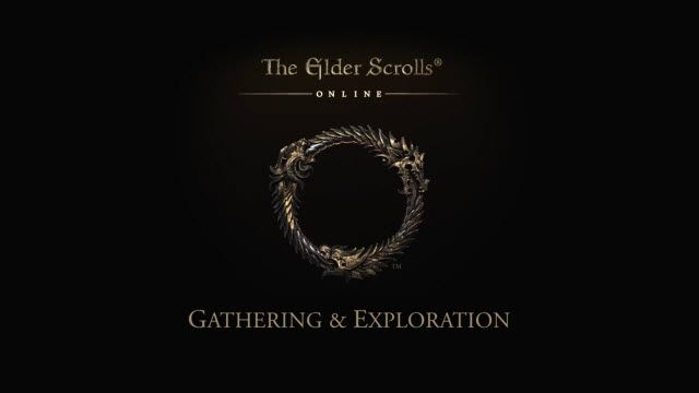 Elder Scrolls Online - Kaynakları Keşfedin