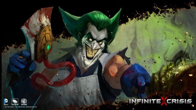 Infinite Crisis-Gaslight Joker Oynanış Videosu