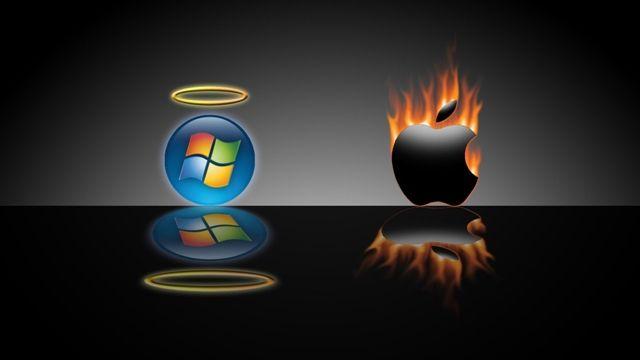 Microsoft Apple ile Dalga Geçiyor
