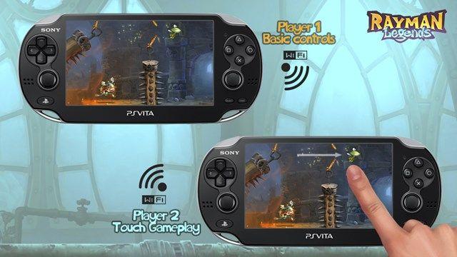 Rayman Legends Playstation Vita'ya geliyor