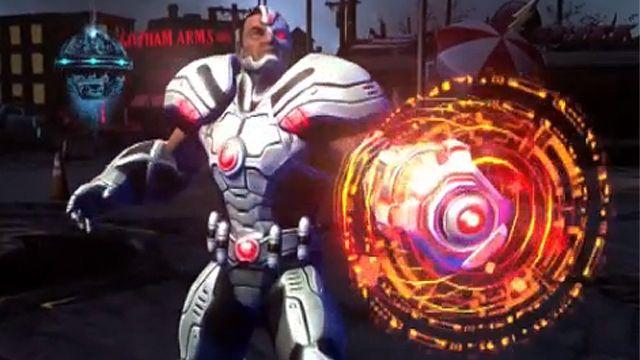 Infinite Crisis-Cyborg Oynanış Videosu