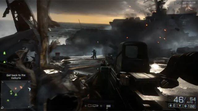 Battlefield 4 Angry Sea Resmi Oynanış Videosu