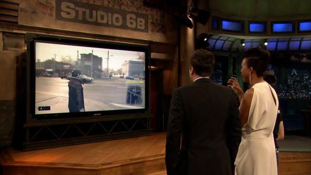 Watch Dogs Jimmy Fallon Şov Tanıtımı