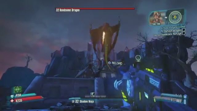 Borderlands 2 Tiny Tina's Assault on Dragon Keep Oynanış Videosu