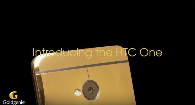 24 Ayar Altın Kaplamalı HTC One Tanıtım Videosu