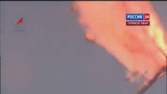 Rus Proton M Roketi Kalkış Esnasında Patladı