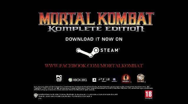 Mortal Kombat Komplete Edition PC Çıkış Videosu