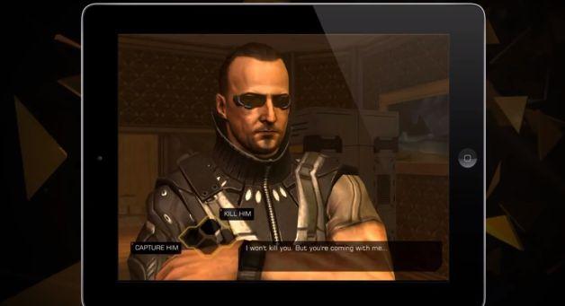 Deus Ex: The Fall iOS'a Geldi