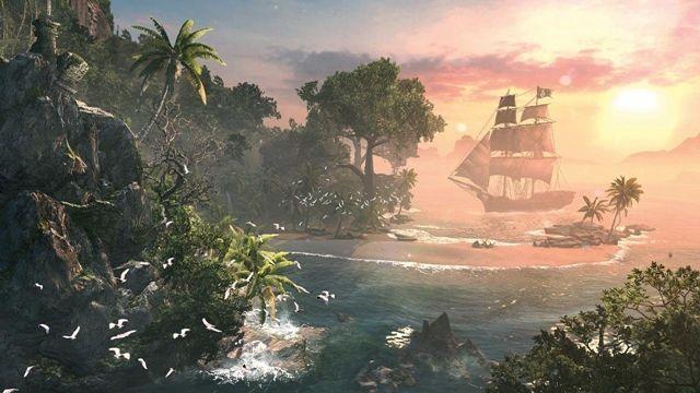 Assassin's Creed 4 Black Flag'dan Uzunca Bir Oynanış Videosu