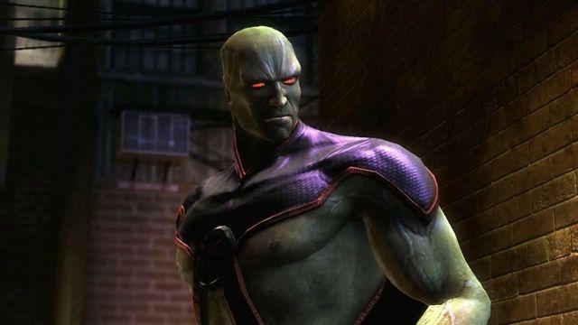 Injustice Gods Among Us - Martian Manhunter Oynanış Videosu