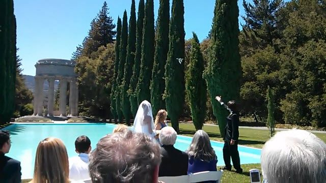 Quadcopter ile Evlilik Yüzüğü Takdim Ettiler