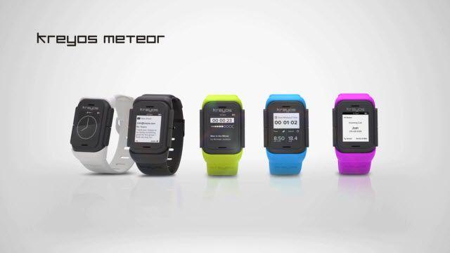 Kreyos - Meteor: Ses ve Hareket Kontrolüne Sahip Tek Akıllı Saat