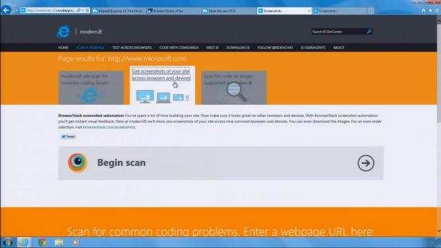 Windows 7 İçin Internet Explorer 11'e İlk Bakış