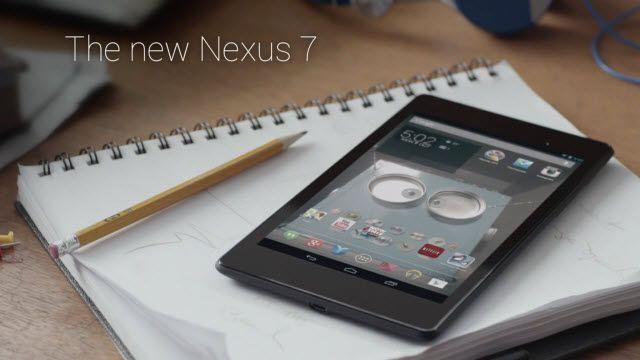 Yeni Nexus 7 Reklam Videosu