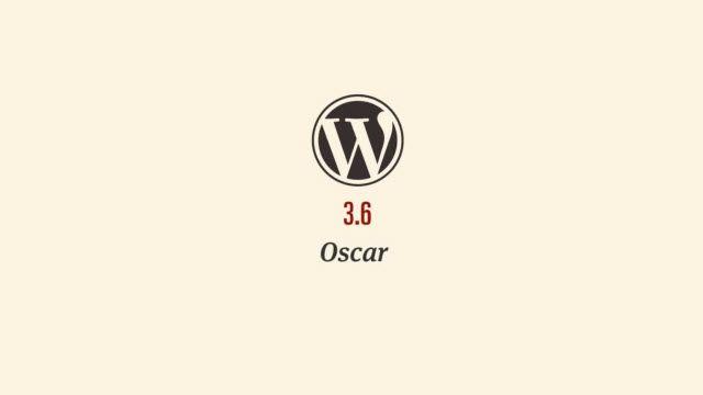 Wordpress 3.6 Oscar Tanıtım Videosu