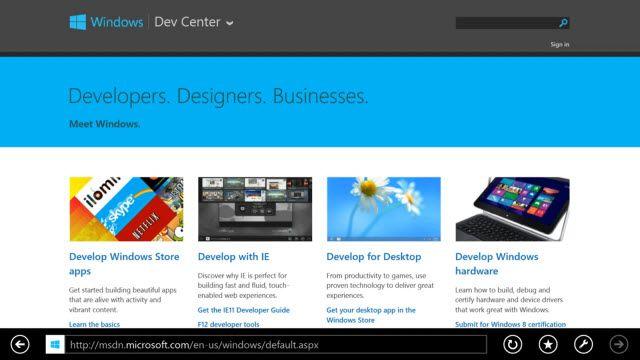 Internet Explorer 11 Sayfalar Arası Geçiş Tanıtımı