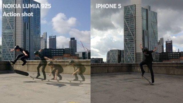 Nokia'nın, Lumia 925 ile iPhone Fotoğraflarını Karşılaştırdığı Reklam Videosu