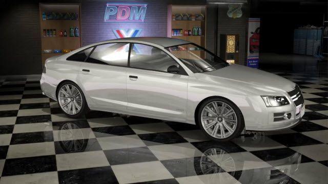 GTA 5 Arabaları - Tailgater
