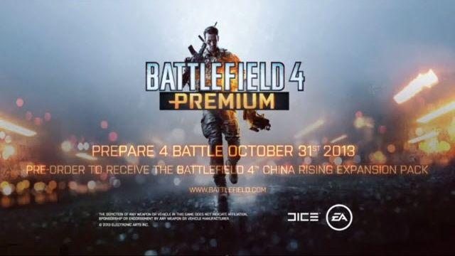 Battlefield 4 Premium Tanıtım Videosu