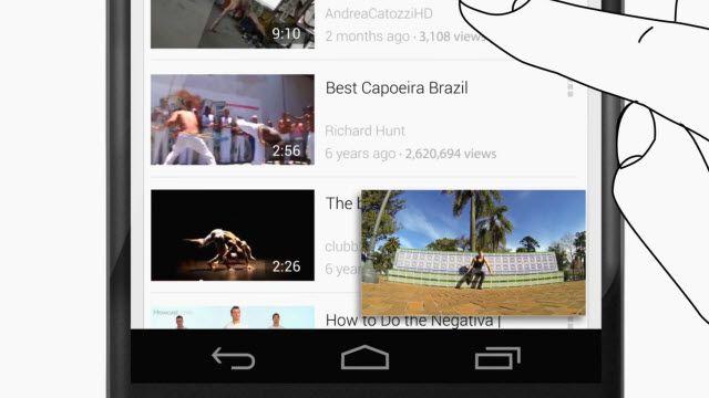 Güncellenen Youtube Uygulaması için Tanıtım Videosu