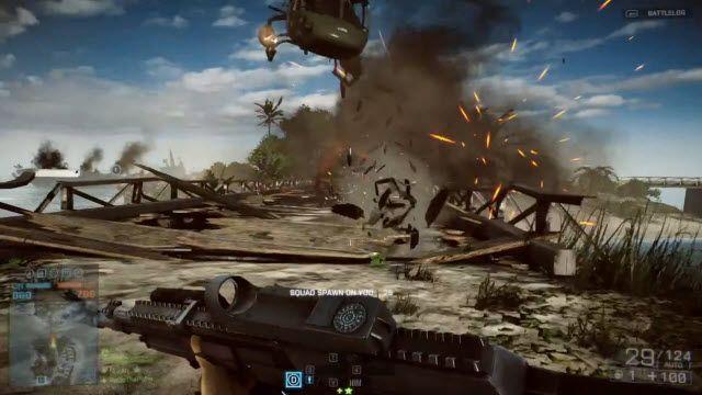 Battlefield 4 Gamescom 2013 Multiplayer Oynanış Videosu