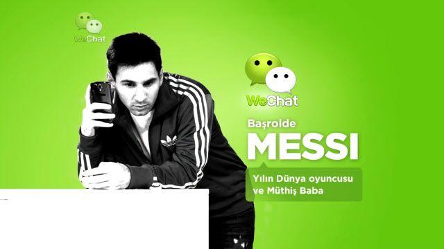 Lionel Messi'li WeChat TV Reklamı