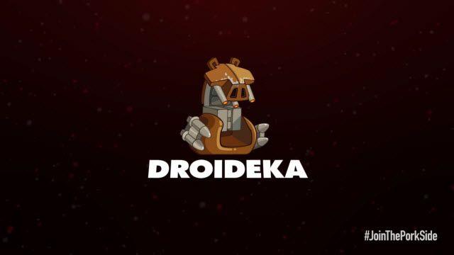 Angry Birds: Star Wars 2 Droideka Karakter Tanıtımı