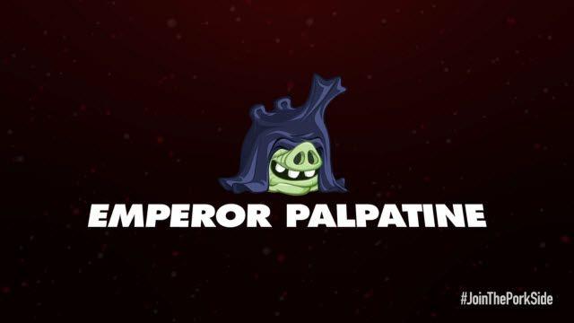 Angry Birds: Star Wars 2 Emperor Palpatine Karakter Tanıtımı