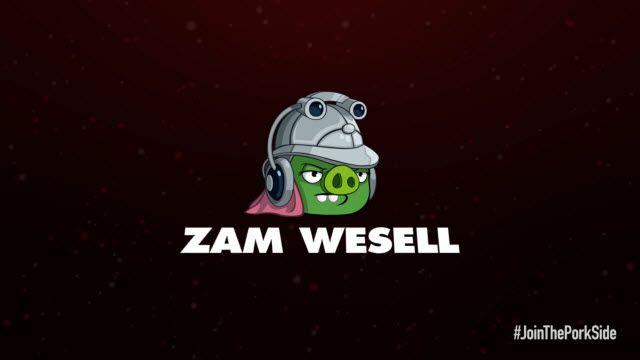 Angry Birds: Star Wars 2 Zam Wesell Karakter Tanıtımı