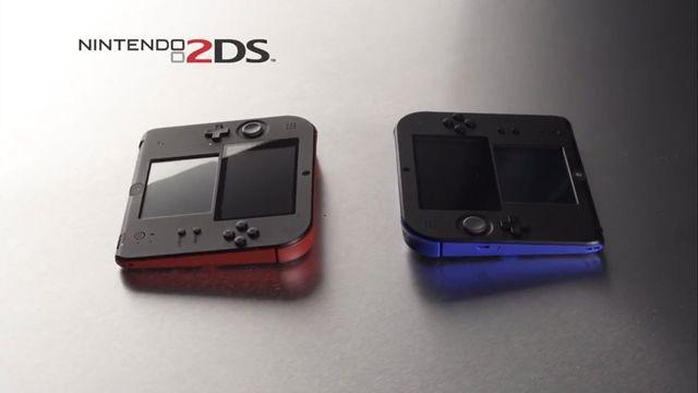 Nintendo Yeni Oyun Konsolu 2DS'i Tanıttı