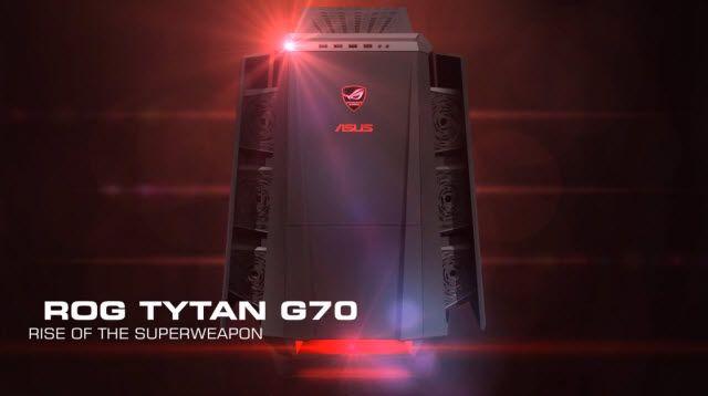ASUS TYTAN G70 Oyun Bilgisayarı