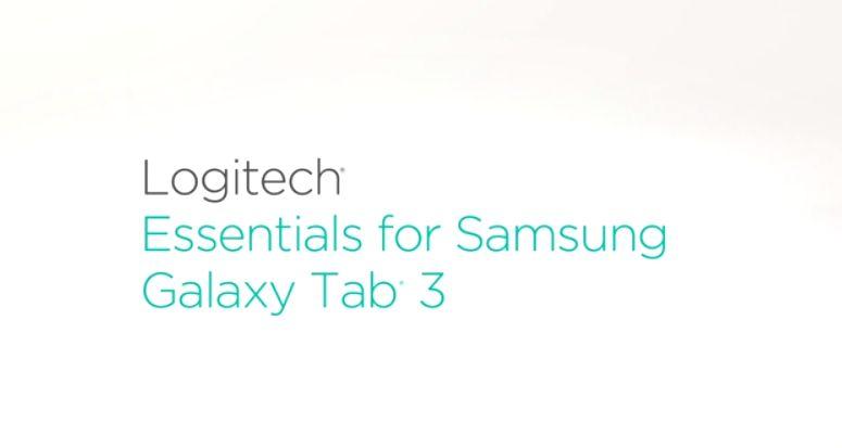 Galaxy Tab 3 için Logitech Aksesuarları Geliyor