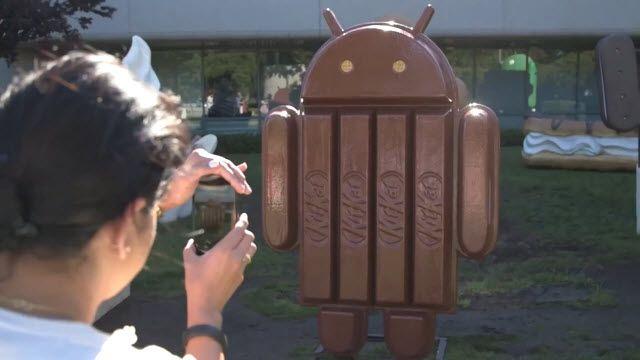 Android 4.4 KitKat Heykeli Ortaya Çıktı