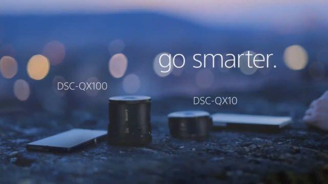 Sony QX100 ve QX10 Takılabilir Lens Tanıtım Videosu