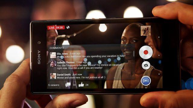 Xperia Z1 - Akıllı Sosyal Kamera