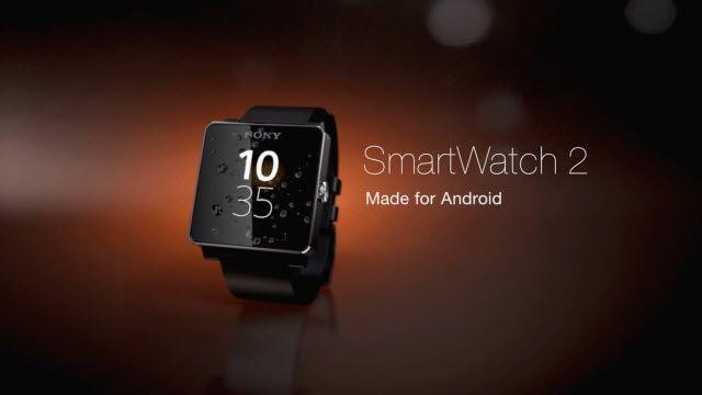 Sony SmartWatch 2 için Yeni Tanıtım Videosu