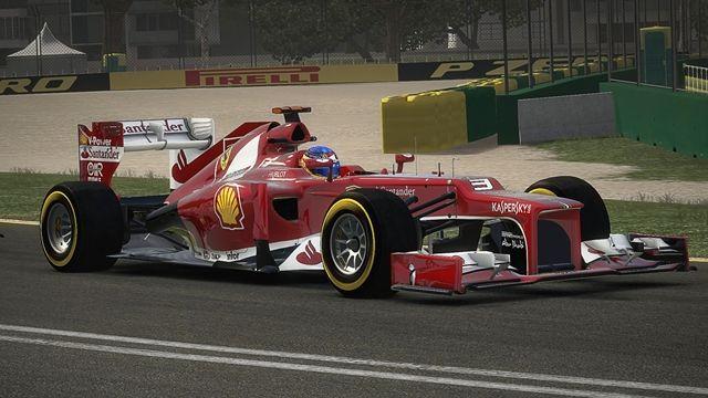 F1 2013 Ferrari Oynanış Videosu