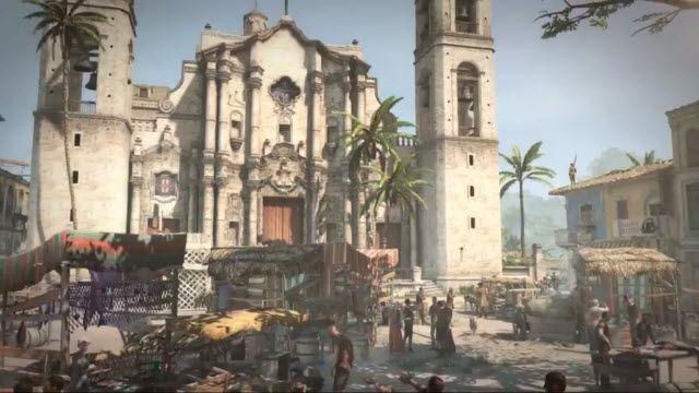 Assassin's Creed 4 - Yaşayan Açık Dünya